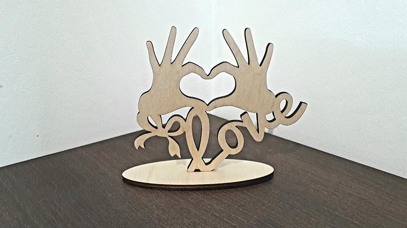 Szeretlek figura